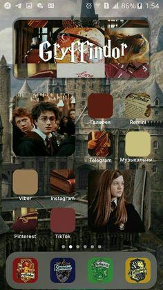 Harry Potter App, Harry Potter Decor, Harry Potter Tumblr, Iphone Home Screen Layout, Iphone Layout, Ios, Harry Potter Background, Iphone App Design, Iphone Wallpaper App
