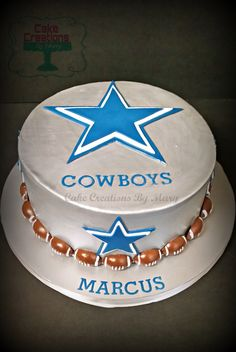 Dallas Cowboys Wedding Groom S Cake Our Wedding