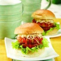 burger ikan mini