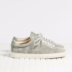 Zespa sneaker grey suede & grey leather