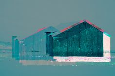 red hut rye harbour pink roof
