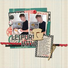 Leipuri Hiiva Little Butterfly Wings & Stolen Moments Designs: From Scratch Collab, From Scratch Journal Cards