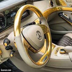 Luxuvore — Mercedes-Benz S500 Versailles Gold. | Be hungry for greatness.