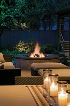 Beginning to really want one of these gas firepits.