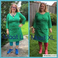Dress Akke van Tante Betsy. (Van:365 days of happy Tante Betsy dresses: Denim dresses love Thursday). Gezocht in S!!