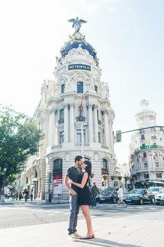 #Madrid, één van de meest romantische steden!
