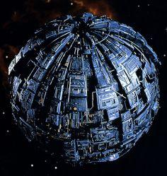 Star Trek Borg, Alien Ship, Star Trek Starships, City Photo