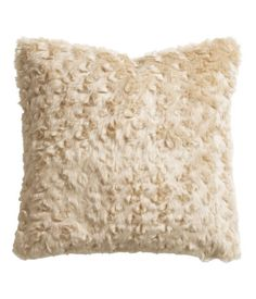 Cushion Cover Imitation Fur w Velvet on Back    Product Detail | H&M US