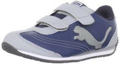 Puma Speeder Illuminescent V Sneaker (Toddler/Little Kid/Big Kid) Puma. $29.95. synthetic. Glow-in-the-dark logo. Manmade sole