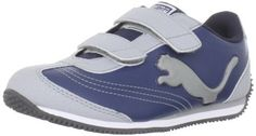 Puma Speeder Illuminescent V Sneaker (Toddler/Little Kid/Big Kid) Puma. $29.95. synthetic. Glow-in-the-dark logo. Manmade sole