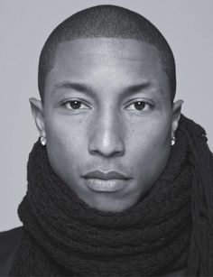 Pharrell Williams. Talented. #mensfashion #mensjewellery  www.urban-male.com
