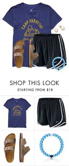 """""""I want to go back to Camp!!"""" by flroasburn ❤ liked on Polyvore featuring Billabong, NIKE and TravelSmith"""