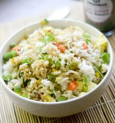 Weight Watcher Recipes -  Fried Rice 4 PP per serving – Recipe Diaries