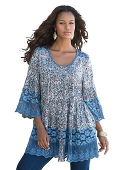 You'll stand out this season in our wonderful bigshirt, designed especially for your unique shape. #Pantone #PlacidBlue