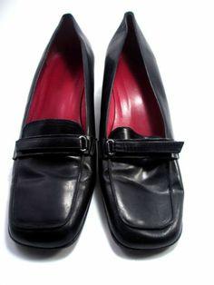 Ann Taylor Size 10 Black Shoes Career Oxfords 10M Medium