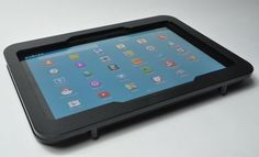 Black Acrylic VESA Desktop Wall Mount Kit for Samsung Galaxy Tab Pro 12.2 #Samsung Vesa Mount, Galaxies, Samsung Galaxy, Display, Black, Floor Space, Billboard, Black People