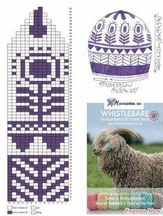 Knitting hat pattern