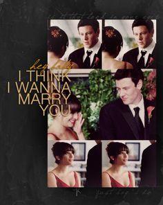 Rachel & Finn #Glee