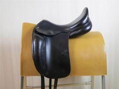 AMERIGO, Close Contact, Dressage Saddle, Black, 18 M #Amerigo