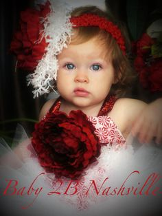 Imagine your little girl in her Christmas portraits in this gorgeous outfit! Listing includes top and sparkle tutu. You find the matching headband in our accessories section. Christmas Rose, Christmas Shots, Cute Kids, Cute Babies, My Baby Girl, Baby Baby, Baby Girls, Toddler Christmas Dress, Daddys Little Princess