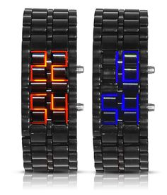 Cool light up watches.