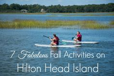 Fall Activities on Hilton Head Island
