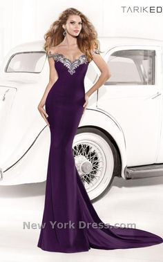 Tarik Ediz 92338 Dress - NewYorkDress.com