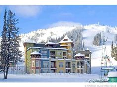 Silver Star Mountain Resort, luxury ski in ski out condos. Mountain Resort, Mountain View, Ski Hill, Kids Play Area, Great Vacations, Resort Style, Area Games, Investment Property, Silver Stars