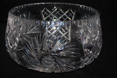 Pottery & Glass Kristaluxus Crystal Glass Vase Professional Design Bohemian/czech