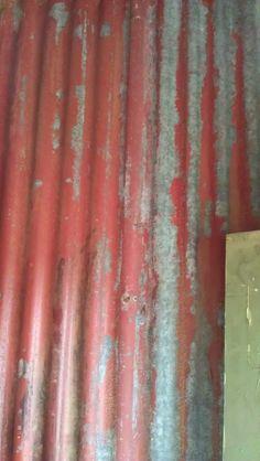 Old Corrugated iron RustyMotion