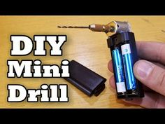 How To Make Mini Drill for 2$ - YouTube