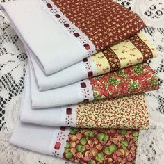 Projects To Try, Sewing Projects, Dish Towels, Kitchen Towels, Napkins, Patches, Quilts, Christmas, Dish Towel Crafts