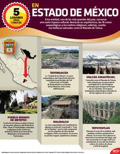Conoce las maravillas que puedes visitar en el Estado De México durante las vacaciones decembrinas. #Infographic