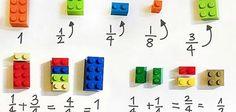 Teacher Uses LEGO Bricks to Explain Math Concepts in Class
