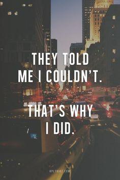 love this. no motivates me. #quotes