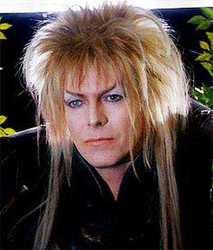 mine david bowie labyrinth jim henson Jareth labyrinthg king of the goblins David Bowie Labyrinth, Labyrinth 1986, Labyrinth Movie, David Bowie Goblin King, Sarah And Jareth, Jim Henson Labyrinth, Fraggle Rock, The Thin White Duke, Kino Film