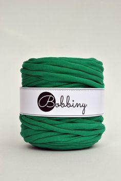 Bobbiny Jersey. Cotton with lycra. Recycled Yarn.