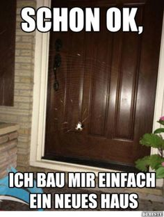 Schon ok, ich wollt sowieso umziehen. Funny Pix, Funny As Hell, Funny Facts, Funny Cute, Funny Jokes, Hilarious, Funny Stuff, Random Stuff, Really Funny Pictures