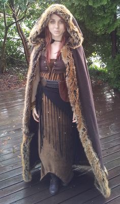 Viking costume, Ravnejenta by in93