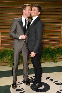 Pin for Later: Hollywood Couples Who Have Been Together the Longest Neil Patrick Harris and David Burtka Neil Patrick Harris and David Burtka reportedly started dating in They made it official with a wedding in Italy in September David Burtka, David Boreanaz, Neil Patrick Harris, Cute Celebrity Couples, Cute Gay Couples, Celebrity Babies, Movie Couples, Famous Couples, Celebrity Style