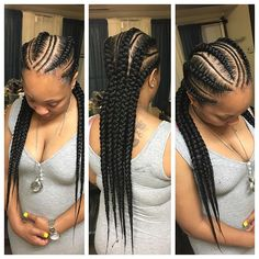 What are the box braids? We braid hair since the dawn of time, so we found traces of braided hairstyles dating back to Prehistory! After a dazzling comeback in the the fashion of braids (or rather mats) does not seem… Continue Reading → Box Braids Hairstyles, Try On Hairstyles, My Hairstyle, Winter Hairstyles, Black Girl Braids, Braids For Black Hair, Girls Braids, Curly Hair Styles, Natural Hair Styles