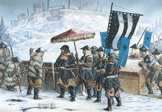 Asedio y toma del castillo de Katsurayama en 1557, una de las acciones de las Batallas de Kawanakajima, entre los clanes Takeda y Uesugi. Cortesía de Wayne Reynolds. Más en www.elgrancapitan.org/foro
