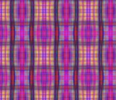 Drip dye plaid more blurry fabric by koalalady on Spoonflower - custom fabric