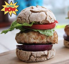Mini Turkey Burgers (with Gluten-Free Protein Buns)