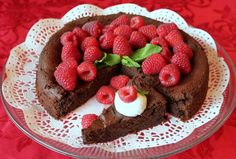flourless choc cake 4