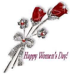 animated gif of Happy women's day