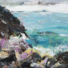 "Saatchi Art Artist Debbie Mackinnon; Painting, ""Secret Cove"" #art"