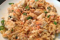 Chicken Pad Thai paleo style