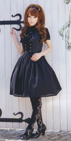 Innocent World JSK from the July issue of Kera! So gorgeous!