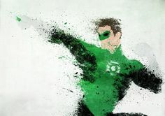 heroes drawn with paint splatters - Google Search